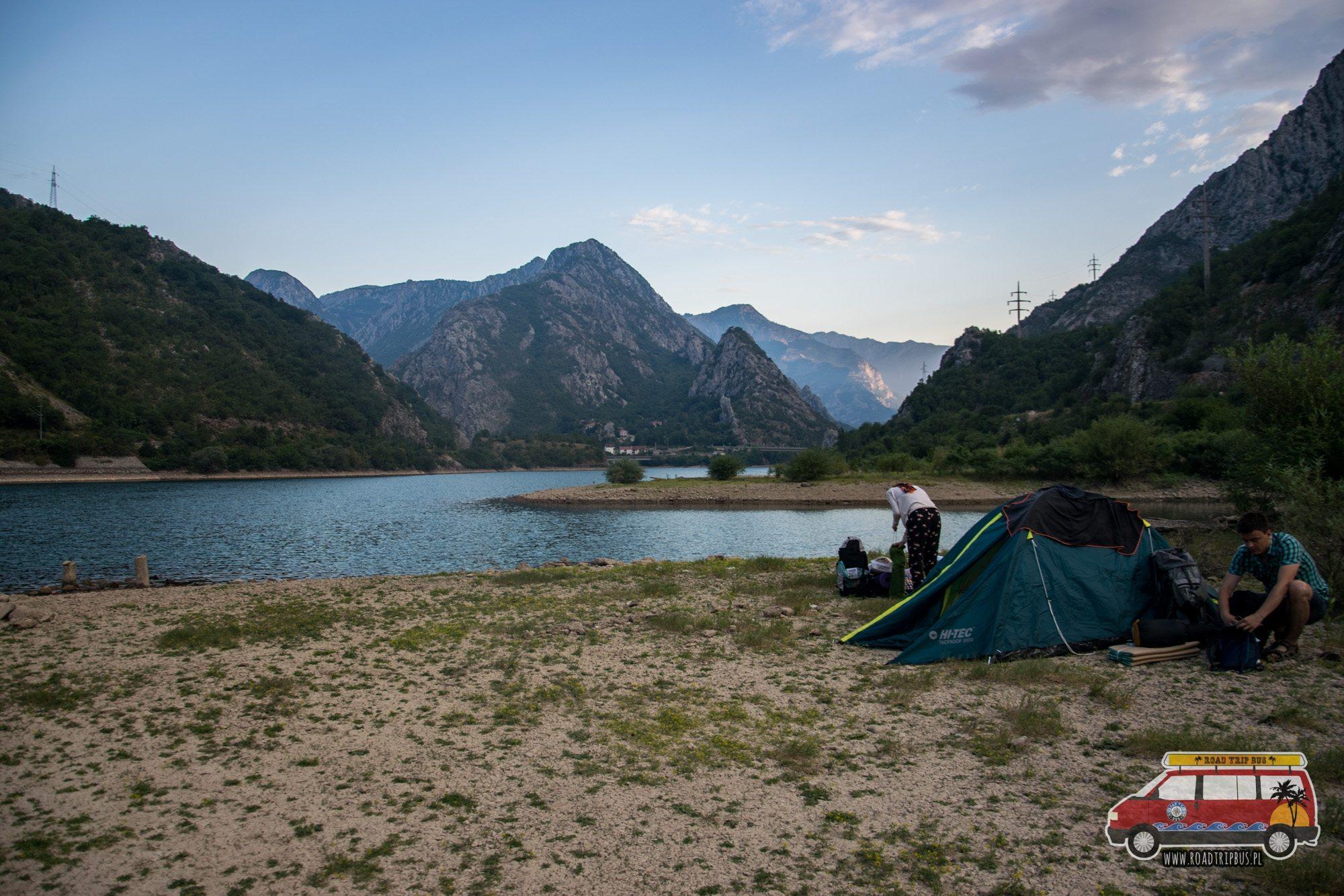 namioty w bośni