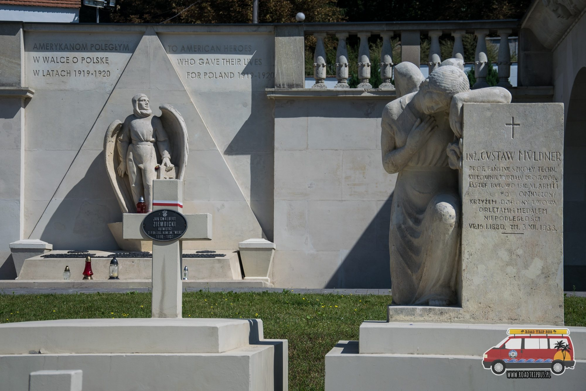 pomnik amerykańskich lotników