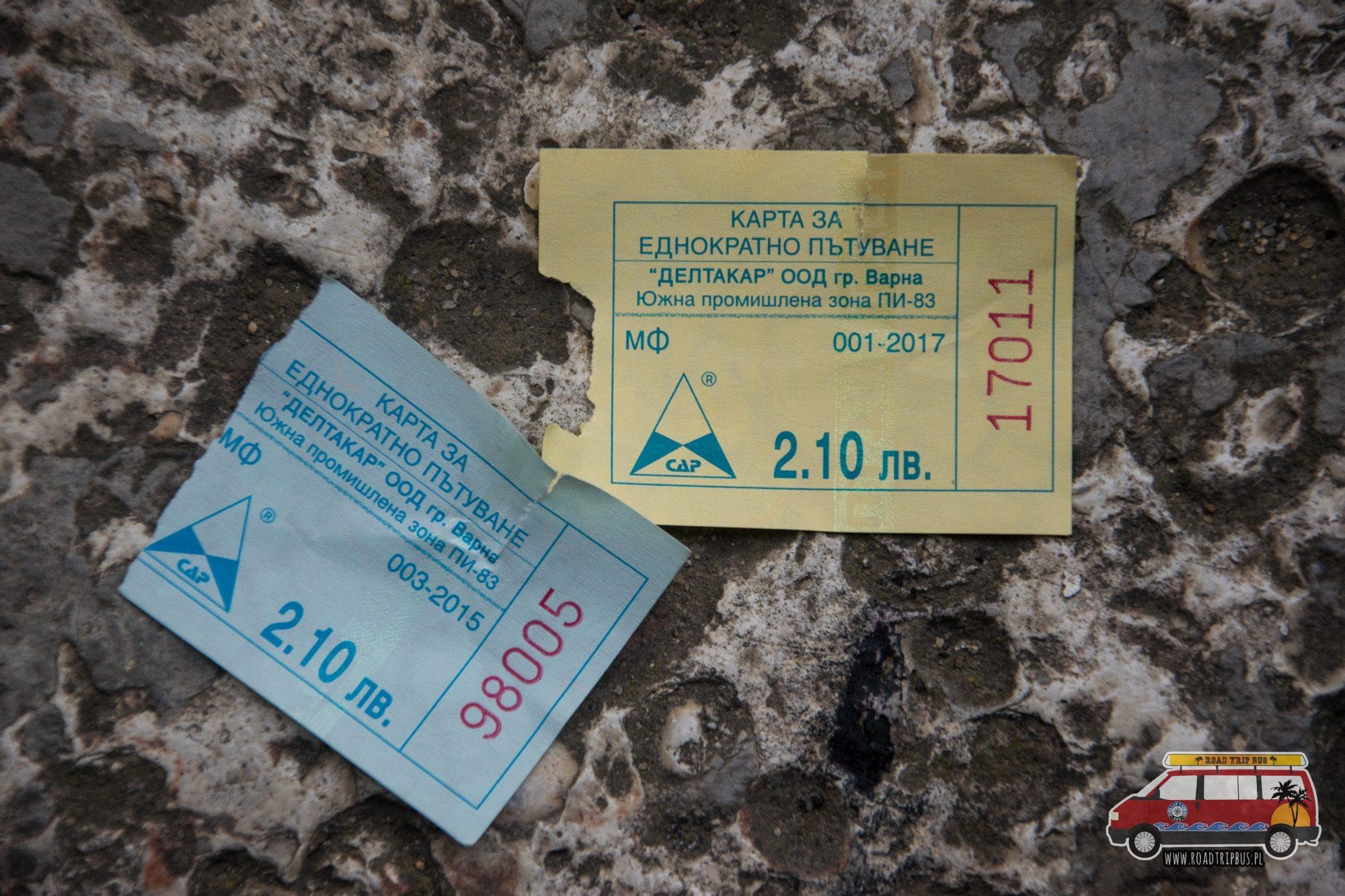 bilety komunikacji miejskiej warna