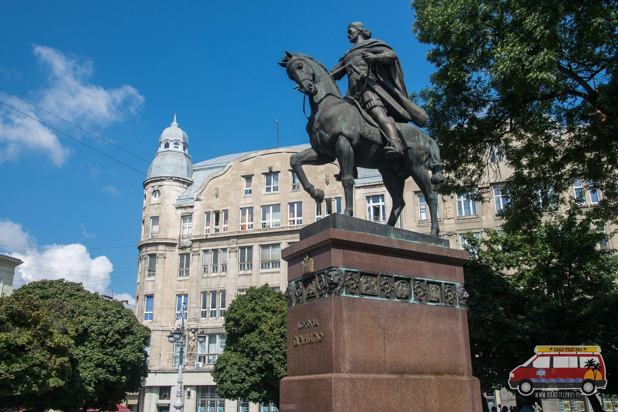 pomnik Daniela Halickiego