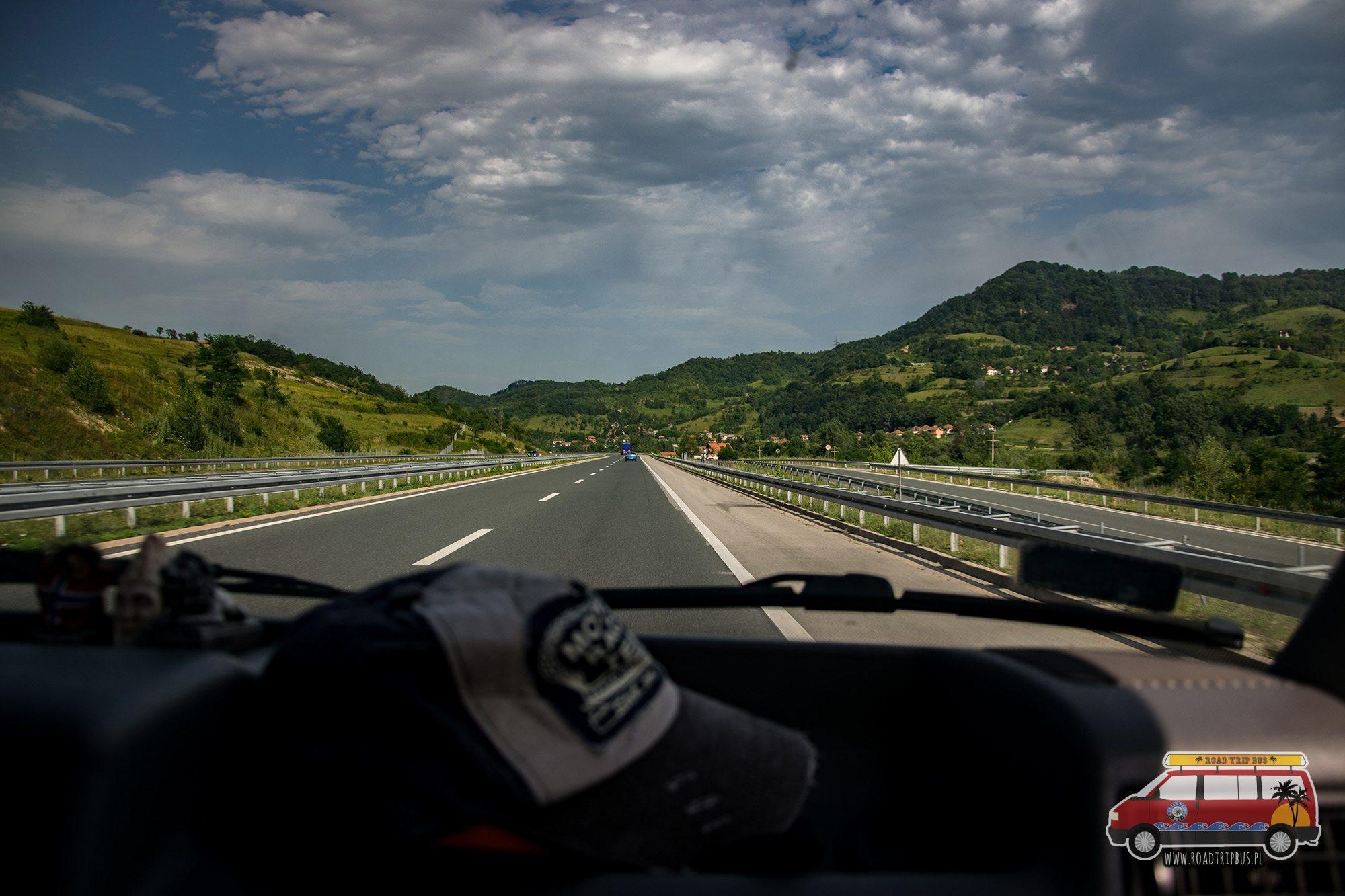 stan dróg w bośni