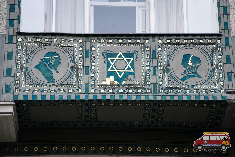 dom w dzielnicy żydowskiej w Pradze