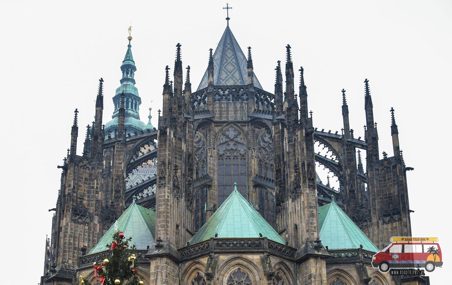 front Katedry Świętego Wita w Pradze