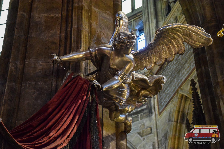 mauzoleum św. Jana Nepomucena Praga