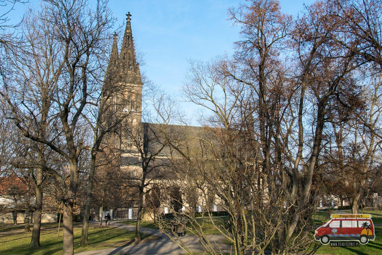 kościół św. Piotra i Pawła w Pradze