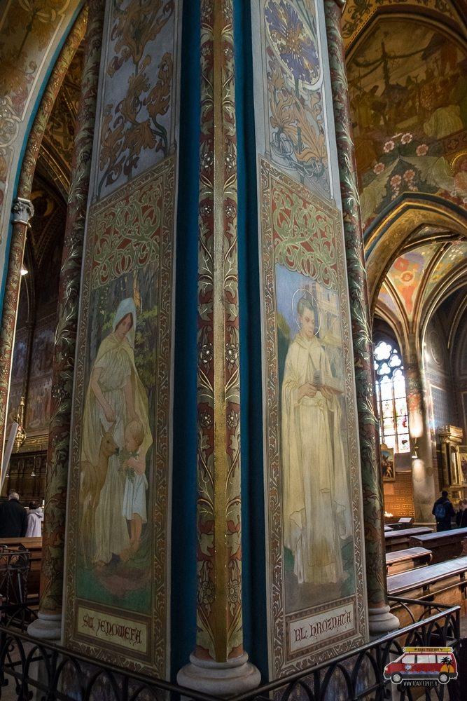 freski w katedrze świętego Piotra i Pawła w Pradze
