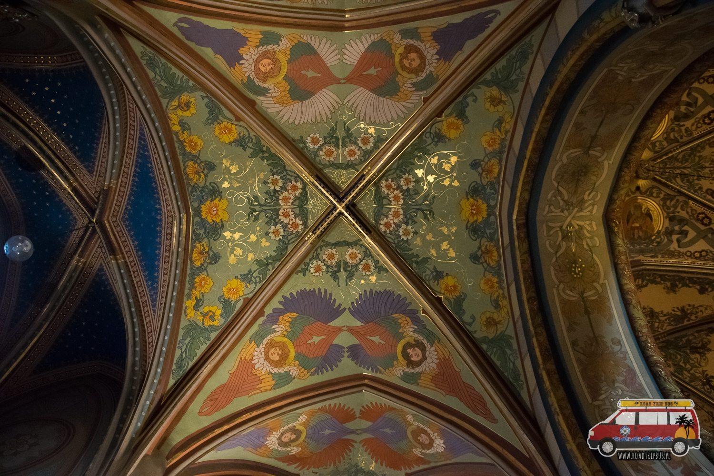 kościół św. Piotra i Pawła sklepienie