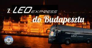 Z LEO Express do Budapesztu