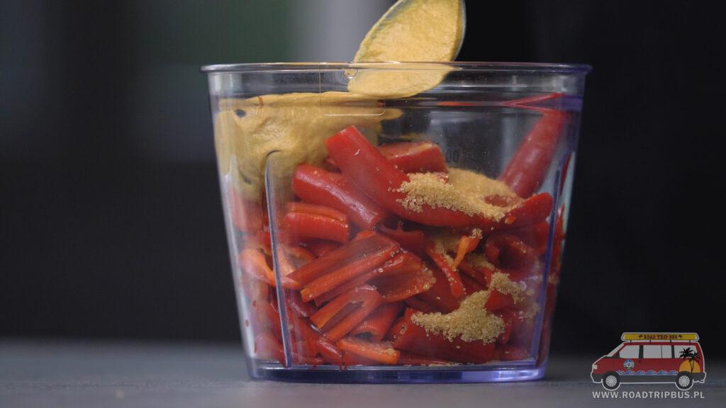 chilli przed blendowaniem