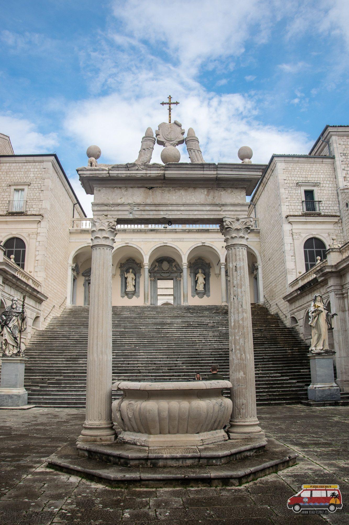 teren klasztoru