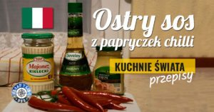 Ostry sos z papryczek chilli