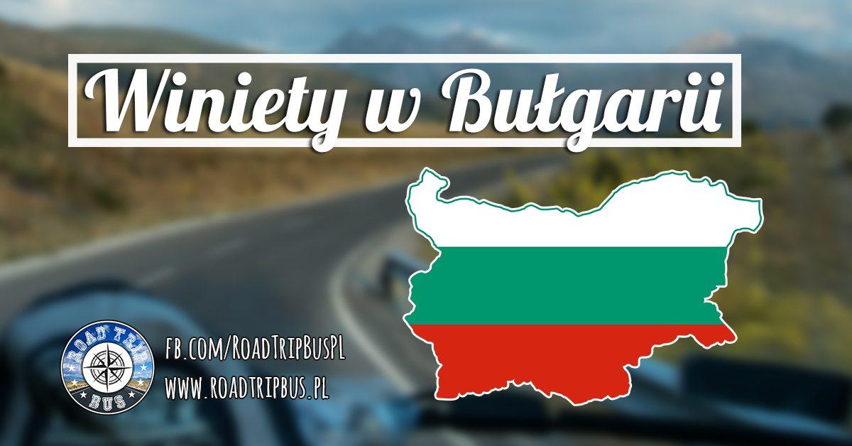 winiety w bułgarii