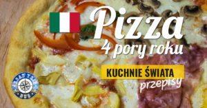 Pizza 4 pory roku (quattro stagioni)