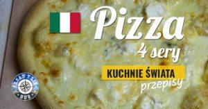 Pizza 4 sery (quattro formaggi)