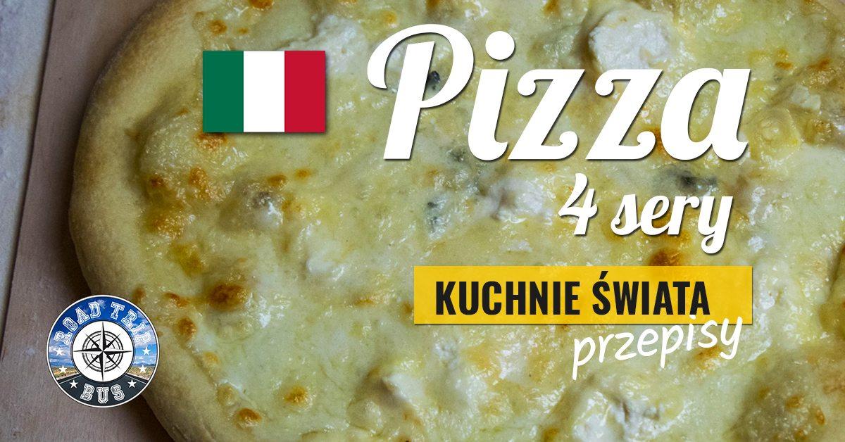 pizza 4 sery przepis