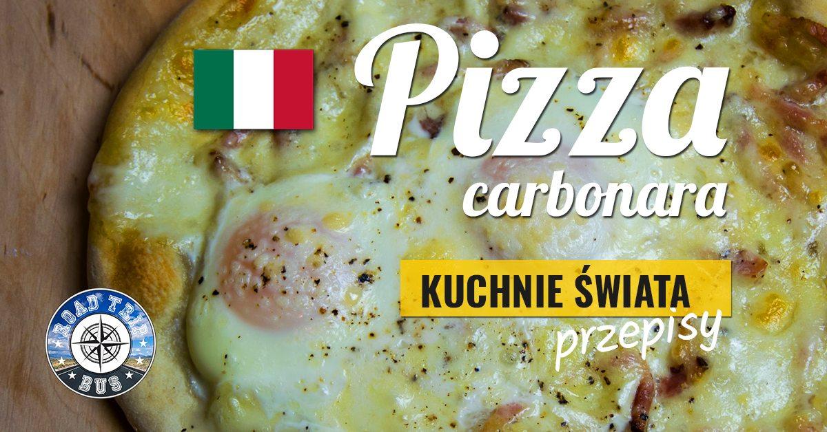 pizza carbonara przepis