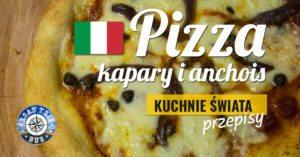 Pizza kapary i anchois