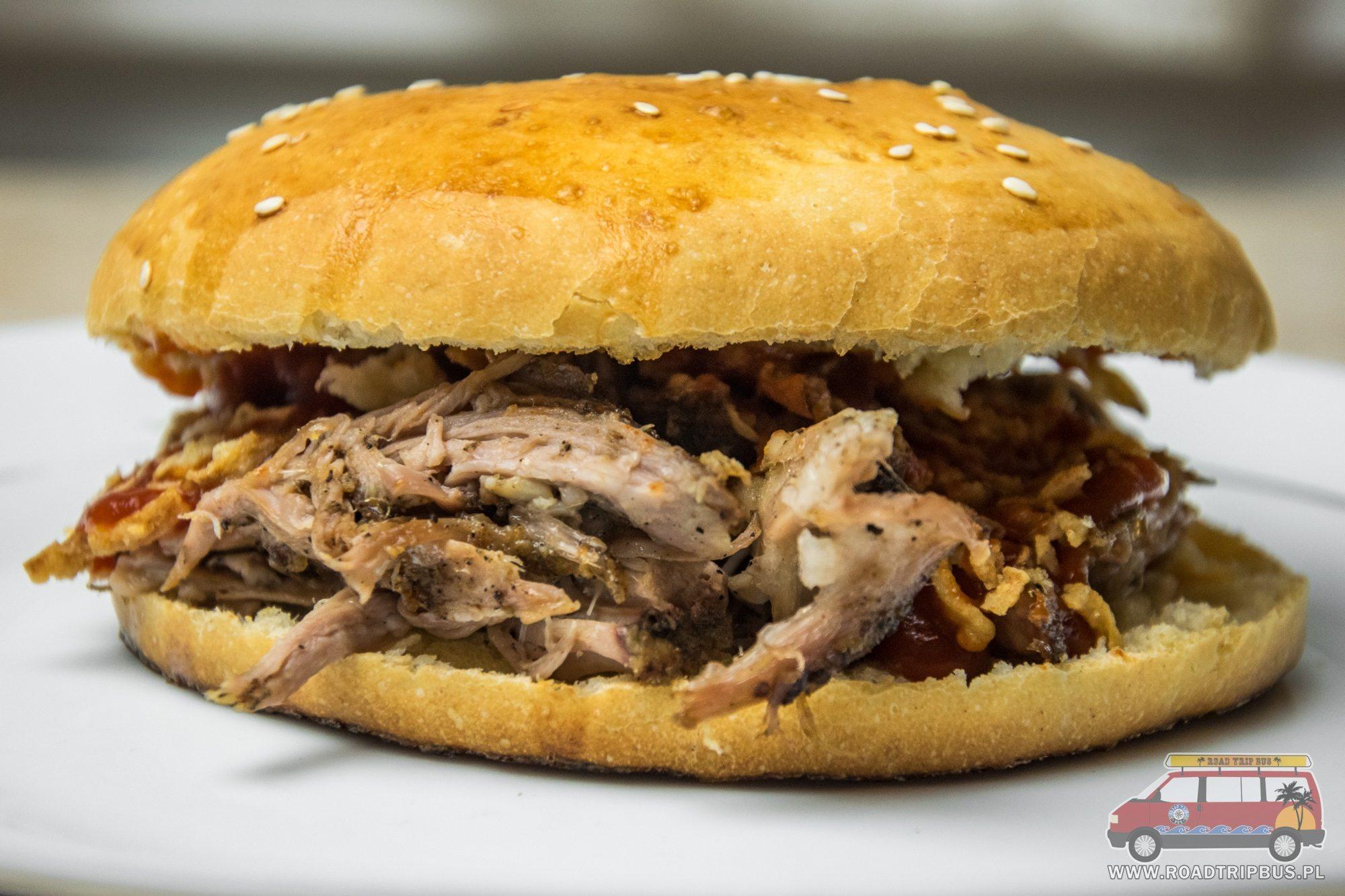 kanapka z pulled pork