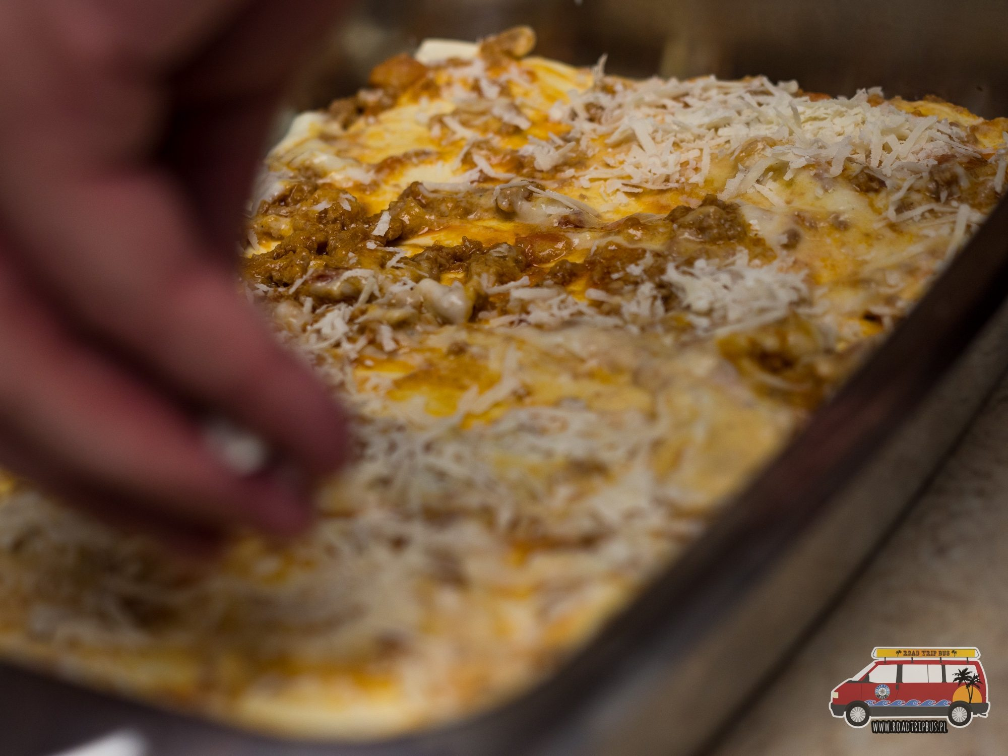 lasagne z parmezanem