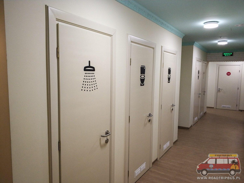łazienki wspólne
