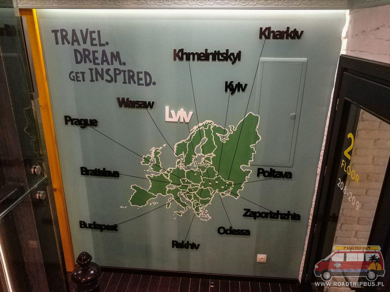 mapa obiektów dream