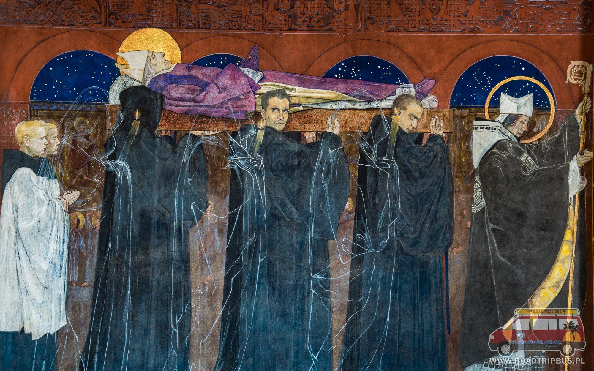 pogrzeb Odilona