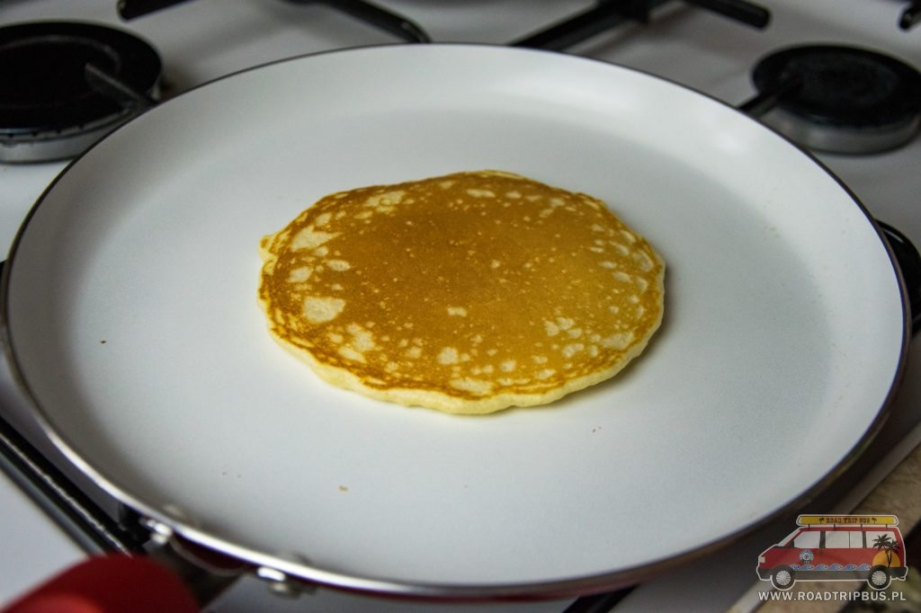 usmażony pancake