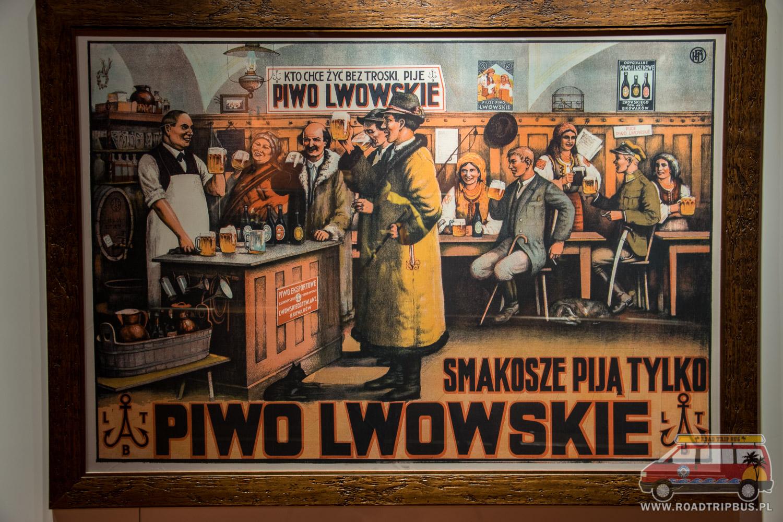 plakat piwa lwowskiego