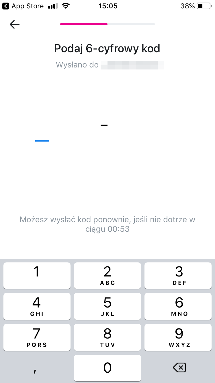 kod sms