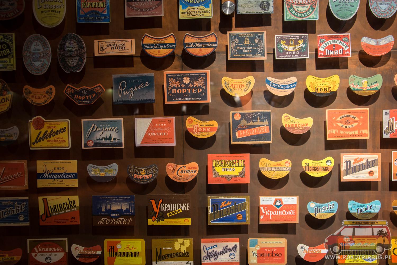 stare etykiety piwa lwowskiego