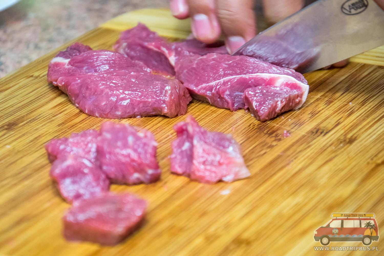oczyszczamy wołowinę