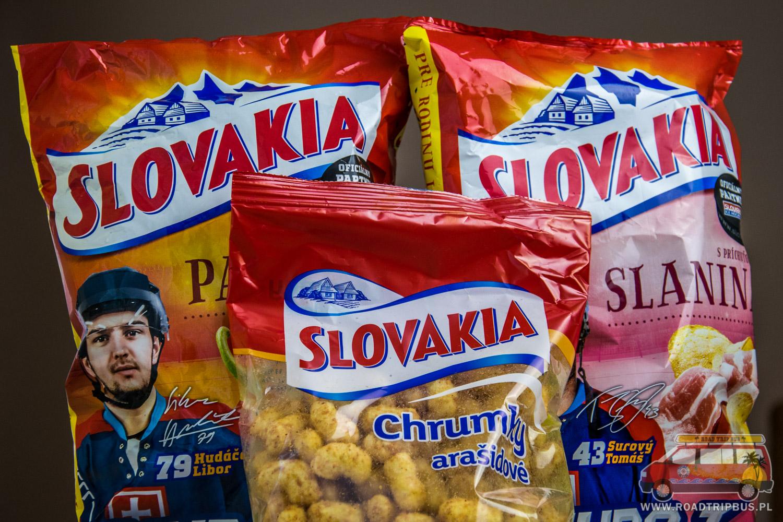 słowackie chipsy