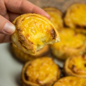 portugalskie ciasteczka pasteis de nata