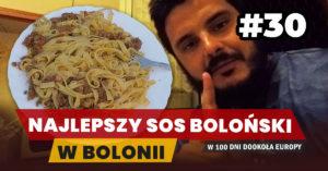 Eurotrip #30 Najlepszy sos boloński w Bolonii