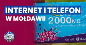 Internet mobilny i telefon w Mołdawii