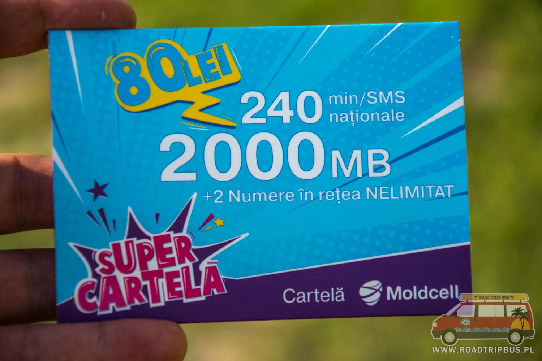 mobilny internet w Mołdawii