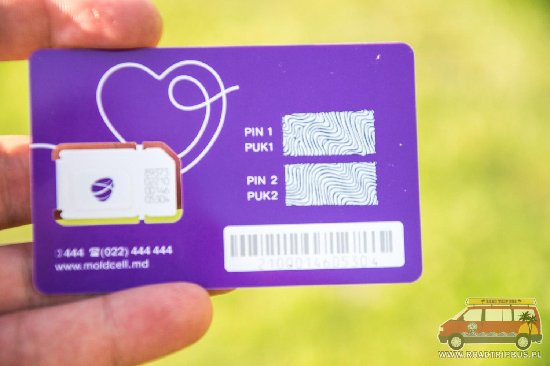 telefon w Mołdawii karta sim