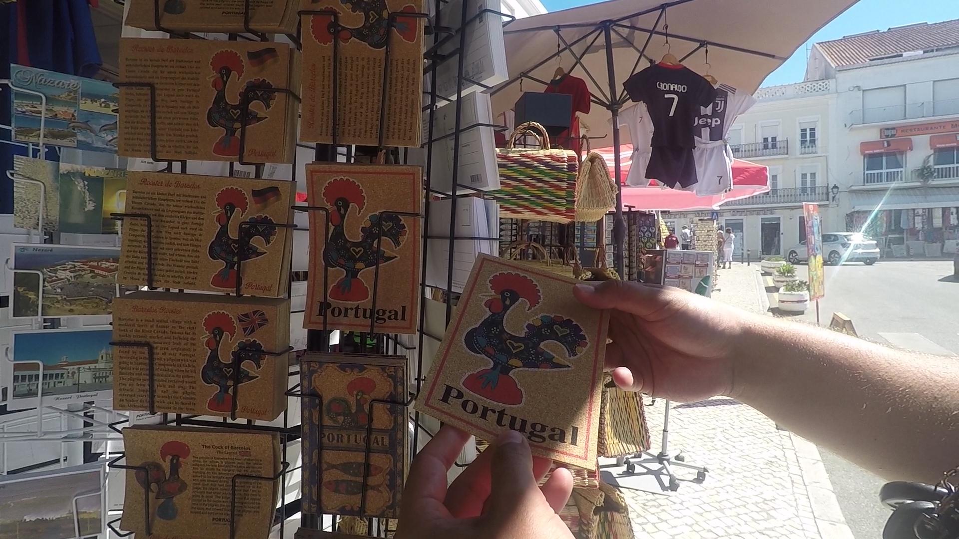 pocztówki z kogutem z barcelos