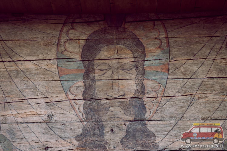 polichromia z XIV wieku
