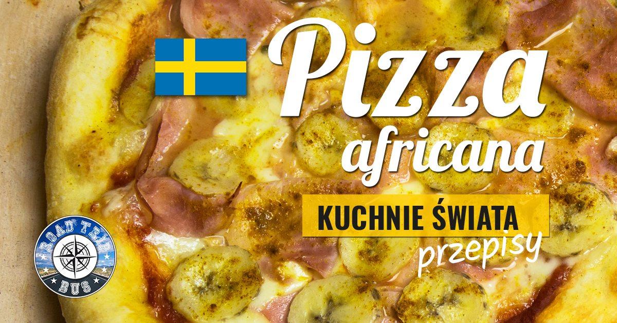 pizza africana przepis