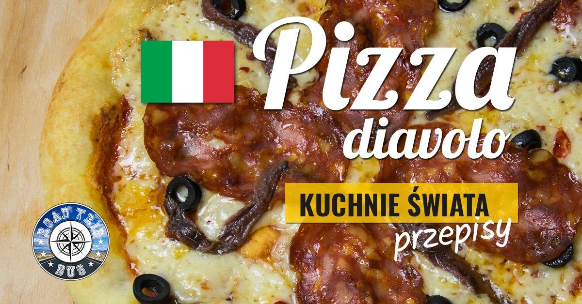 pizza diavolo przepis