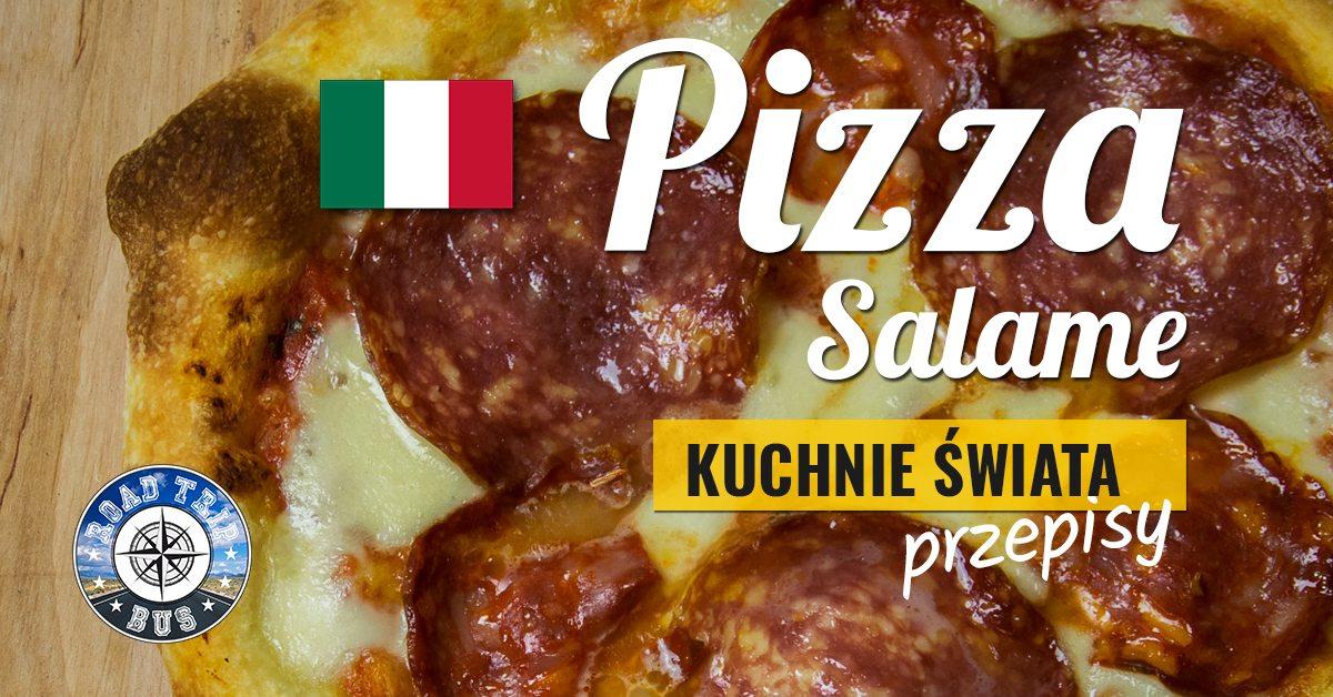 pizza salame przepis