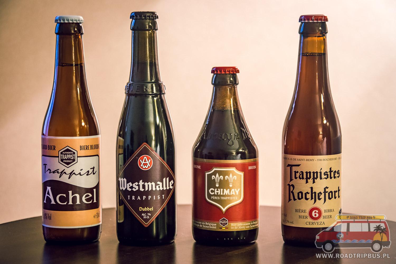 belgijskie piwa trapistów