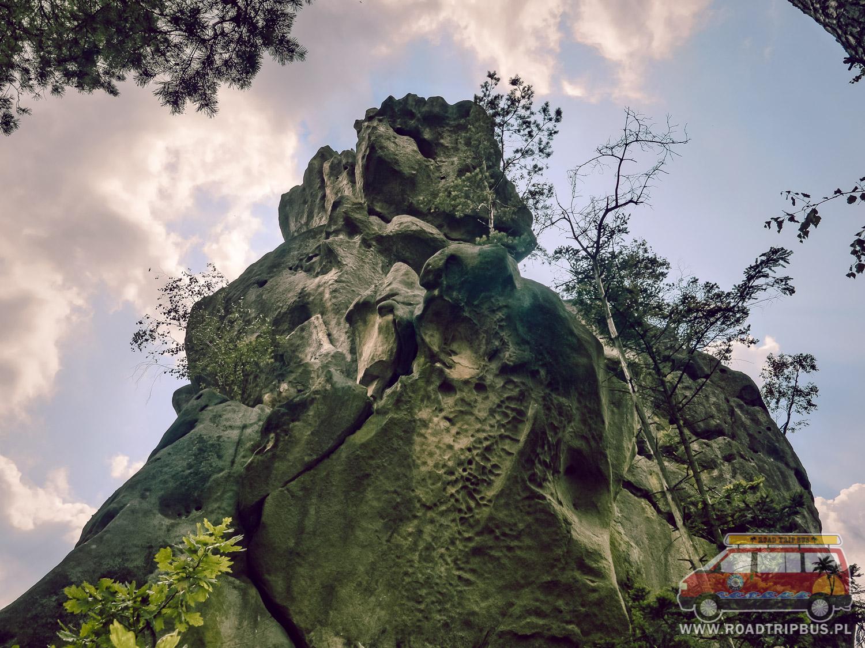 prządki skały