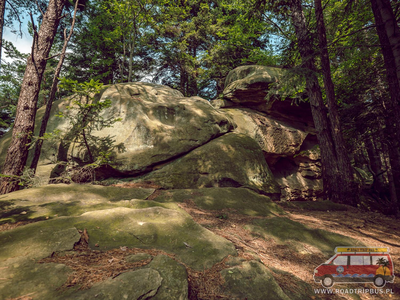 skały piaskowcowe