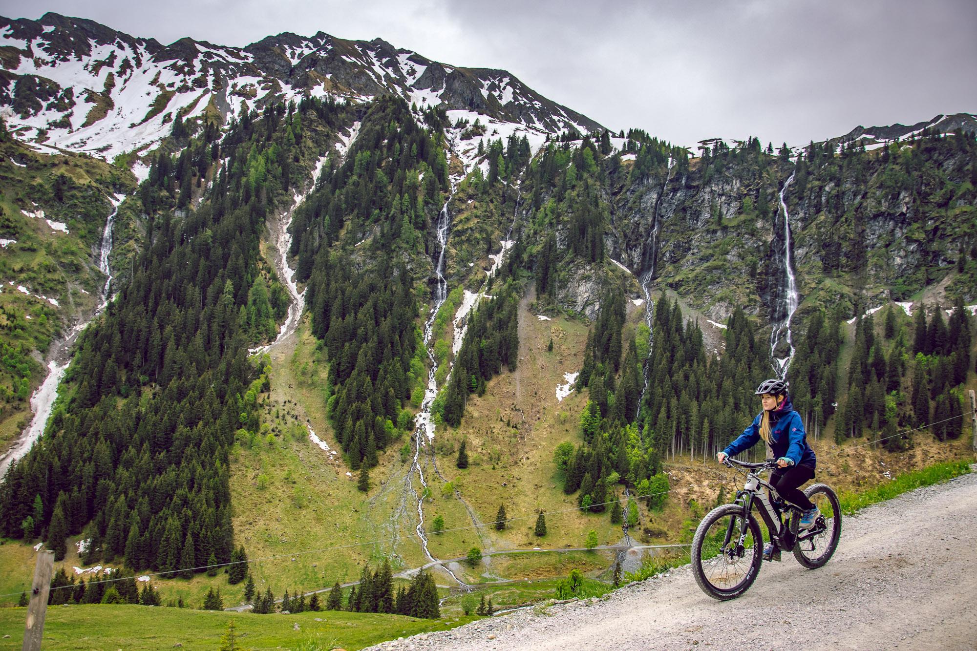jazda na e-bike