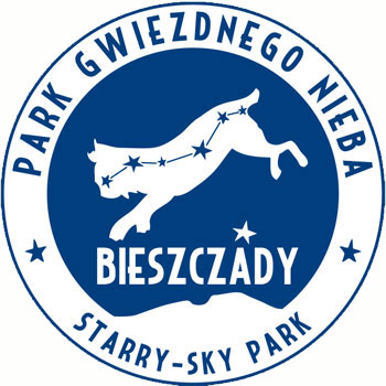 logo parku gwiezdnego nieba bieszczady
