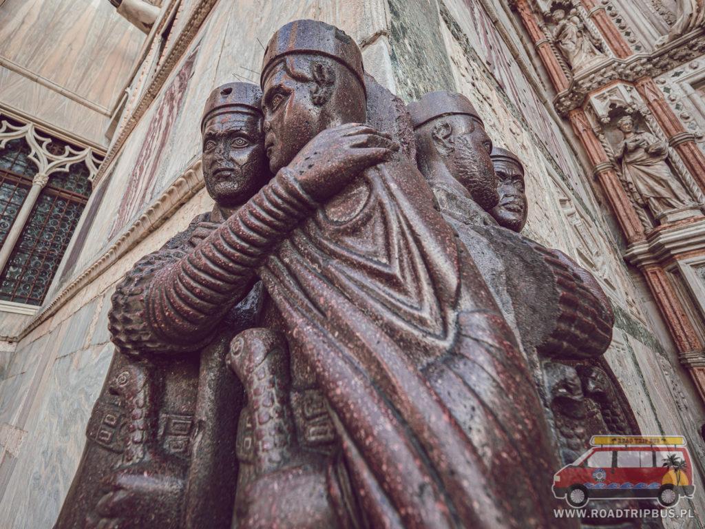rzeźba czterech tetrarchów