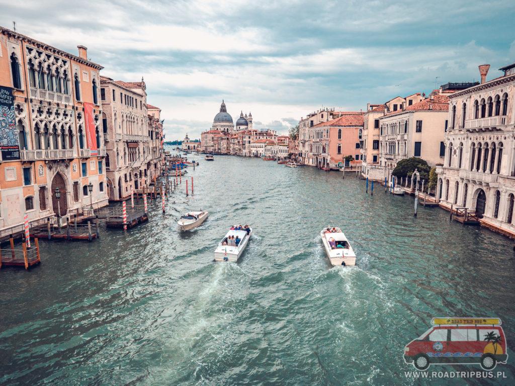 Canal Grande - Wielki Kanał w Wenecji