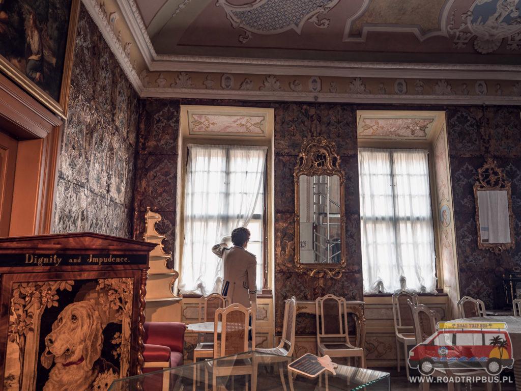 jedna z książęcych komnat w pałacu